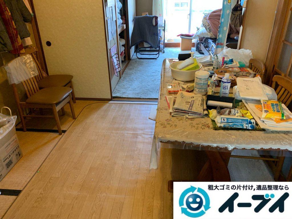 2019年5月17日大阪府大阪市西区で施設に入居するため不用品回収をさせていただきました。写真3