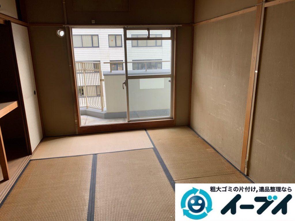 2019年5月17日大阪府大阪市西区で施設に入居するため不用品回収をさせていただきました。写真2