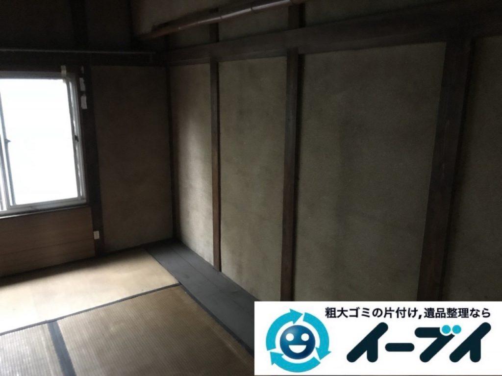 2019年6月12日大阪府大阪市東淀川区でゴミ屋敷の片付け作業。写真4