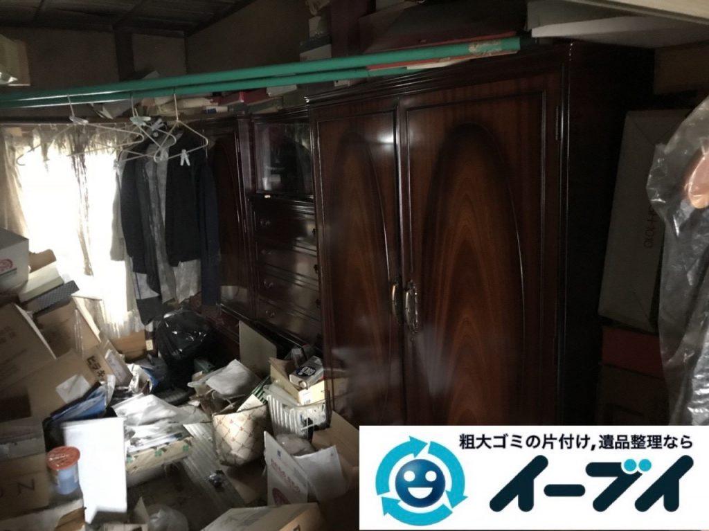 2019年6月12日大阪府大阪市東淀川区でゴミ屋敷の片付け作業。写真3