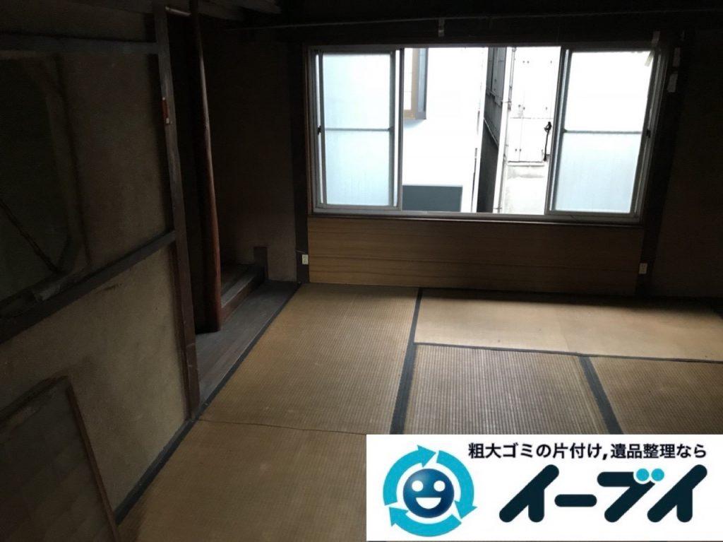 2019年6月12日大阪府大阪市東淀川区でゴミ屋敷の片付け作業。写真2