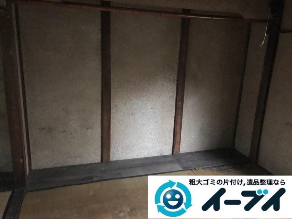 2019年6月18日大阪府茨木市で本棚や整理箪笥の大型家具処分。写真3