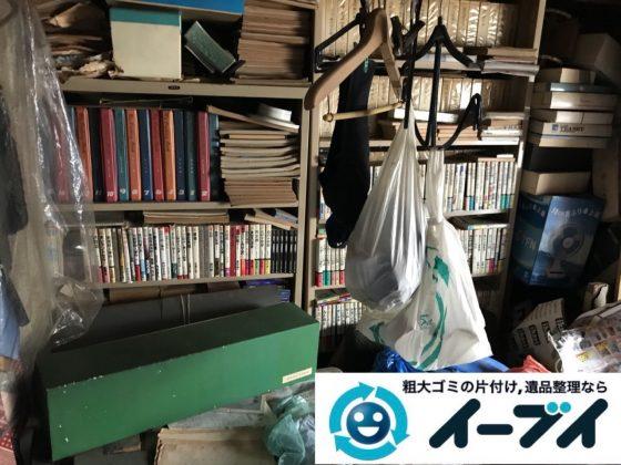 2019年6月18日大阪府茨木市で本棚や整理箪笥の大型家具処分。写真2