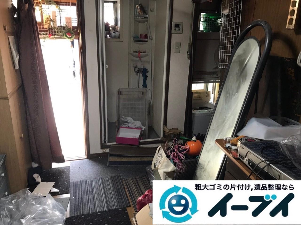 2019年6月20日大阪府大阪市浪速区でマンションの一室の不用品回収をさせていただきました。写真2