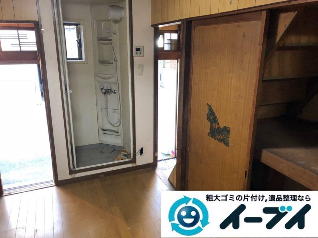 2019年6月20日大阪府大阪市浪速区でマンションの一室の不用品回収をさせていただきました。写真1