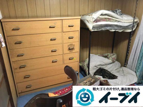 2019年6月21日大阪府大阪市西淀川区で整理箪笥や台所の不用品回収作業。写真2