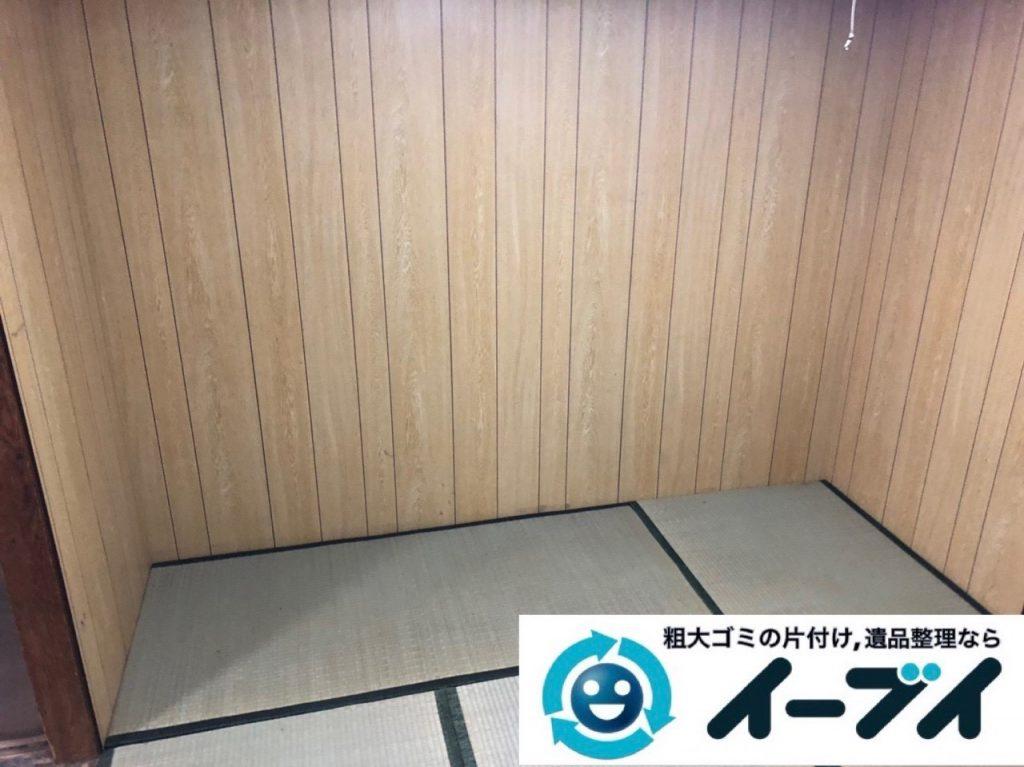 2019年6月21日大阪府大阪市西淀川区で整理箪笥や台所の不用品回収作業。写真1