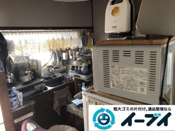 2019年6月25日大阪府大阪市福島区で台所と玄関の不用品回収。写真2