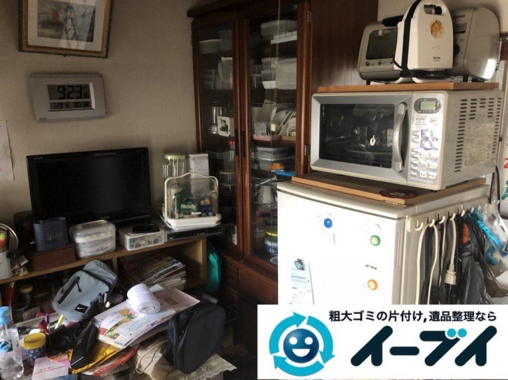 2019年6月11日大阪府大阪市淀川区で引越しに伴い、お家の家財道具一式処分させていただきました。写真4
