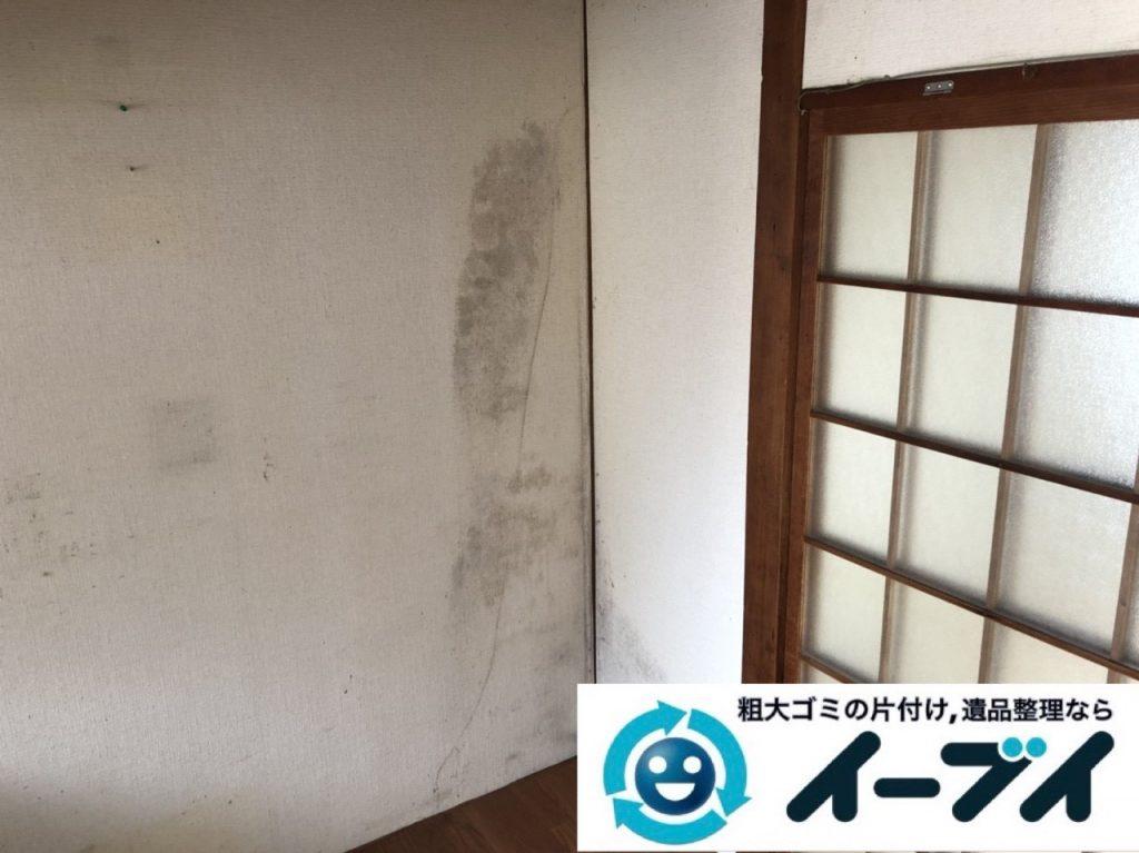2019年6月11日大阪府大阪市淀川区で引越しに伴い、お家の家財道具一式処分させていただきました。写真3