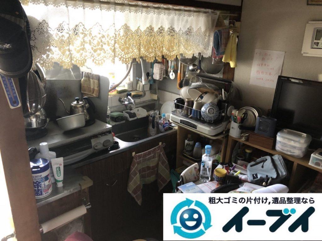 2019年6月11日大阪府大阪市淀川区で引越しに伴い、お家の家財道具一式処分させていただきました。写真2