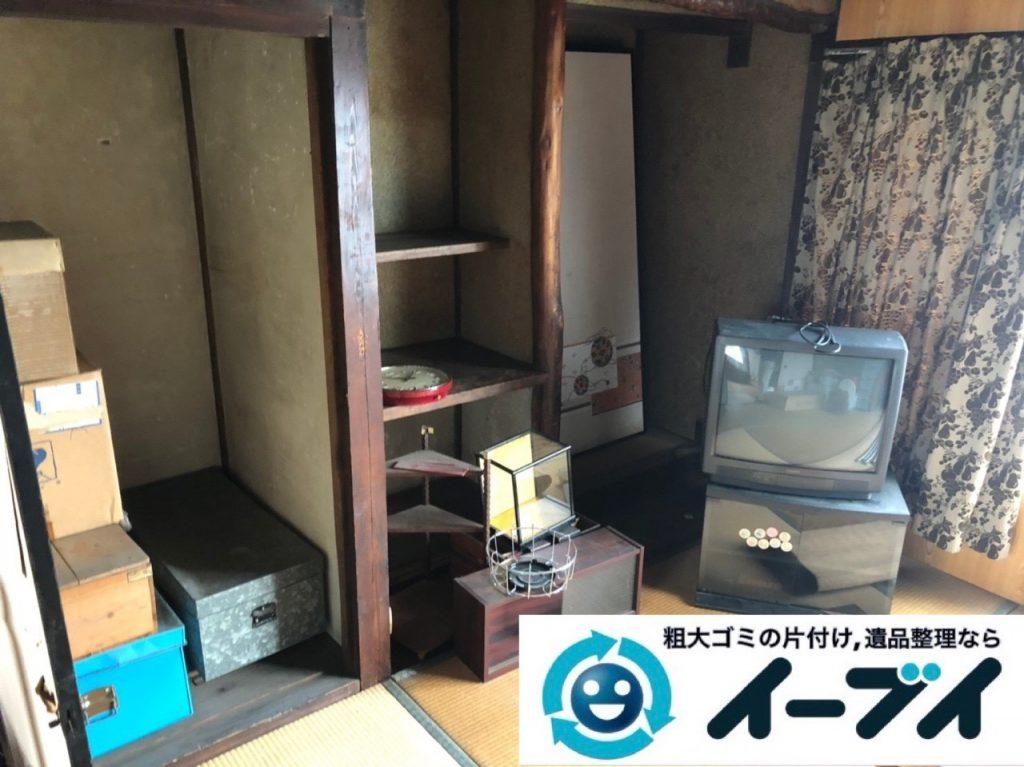 2019年6月2日大阪府大阪市中央区でお部屋や押し入れの不用品回収作業。写真4