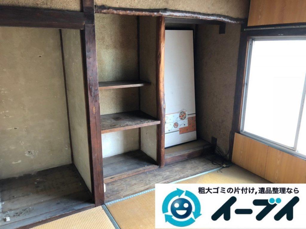 2019年6月2日大阪府大阪市中央区でお部屋や押し入れの不用品回収作業。写真3