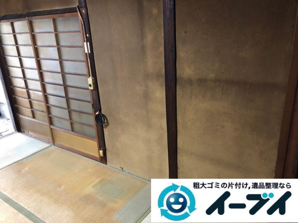 2019年6月10日大阪府大阪市城東区で婚礼家具や和箪笥の大型家具処分のご依頼。写真3