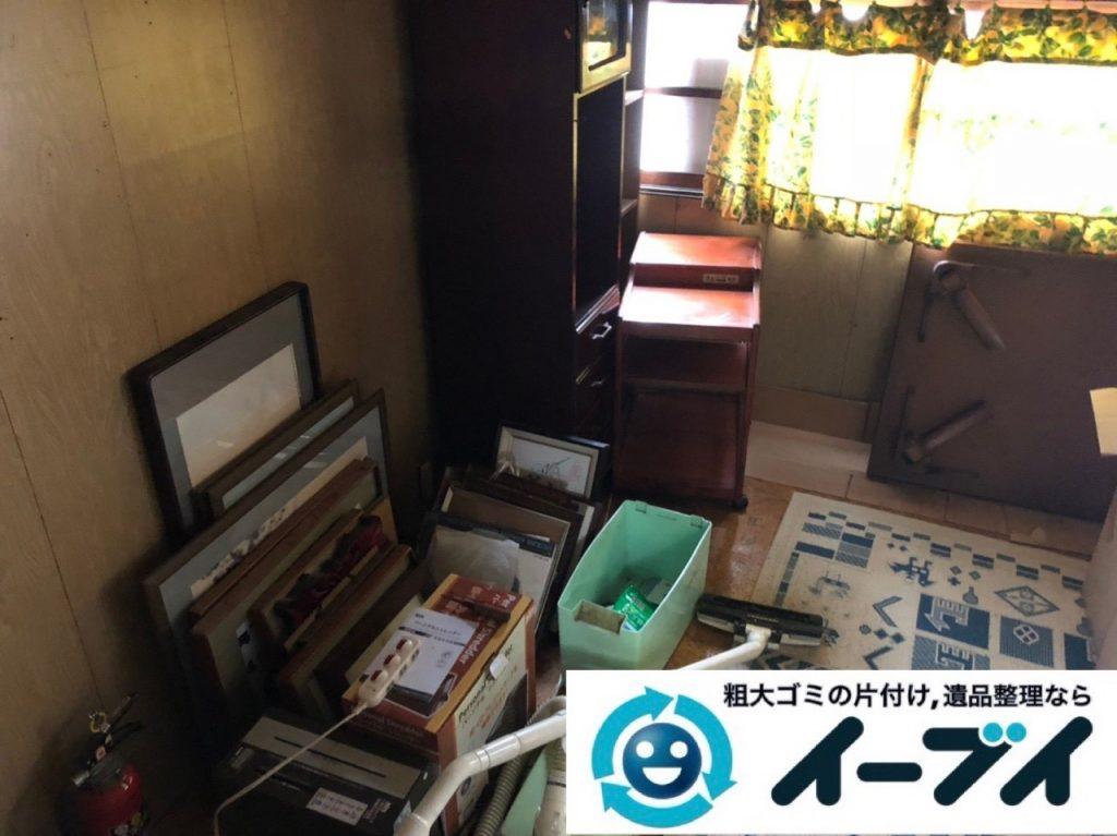 2019年6月10日大阪府大阪市城東区で婚礼家具や和箪笥の大型家具処分のご依頼。写真2