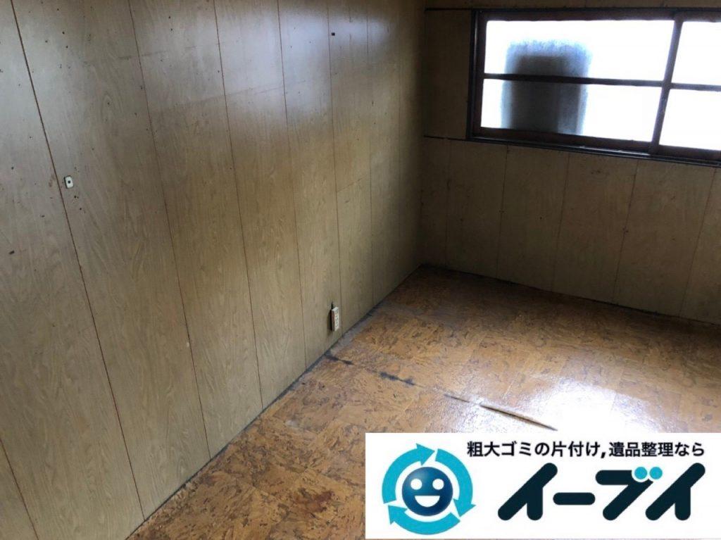 2019年6月10日大阪府大阪市城東区で婚礼家具や和箪笥の大型家具処分のご依頼。写真1