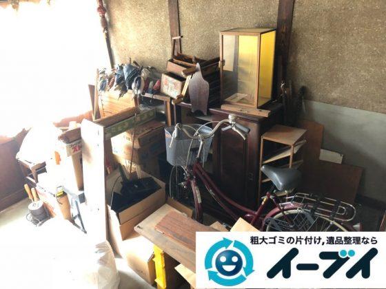 2019年6月24日大阪府大阪市城東区で玄関の不用品回収。写真3