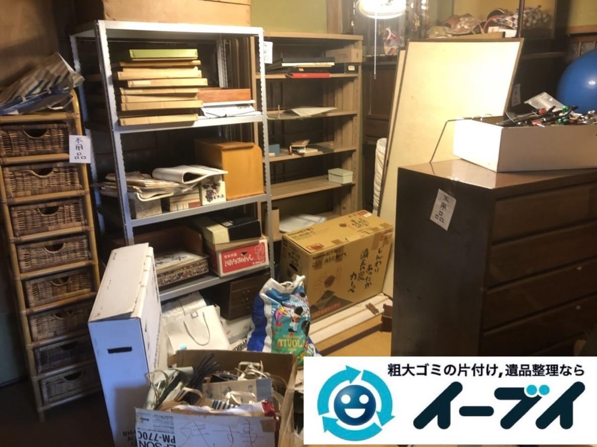 2019年5月30日大阪府豊中市でスチールラックや箪笥の不用品回収。写真3