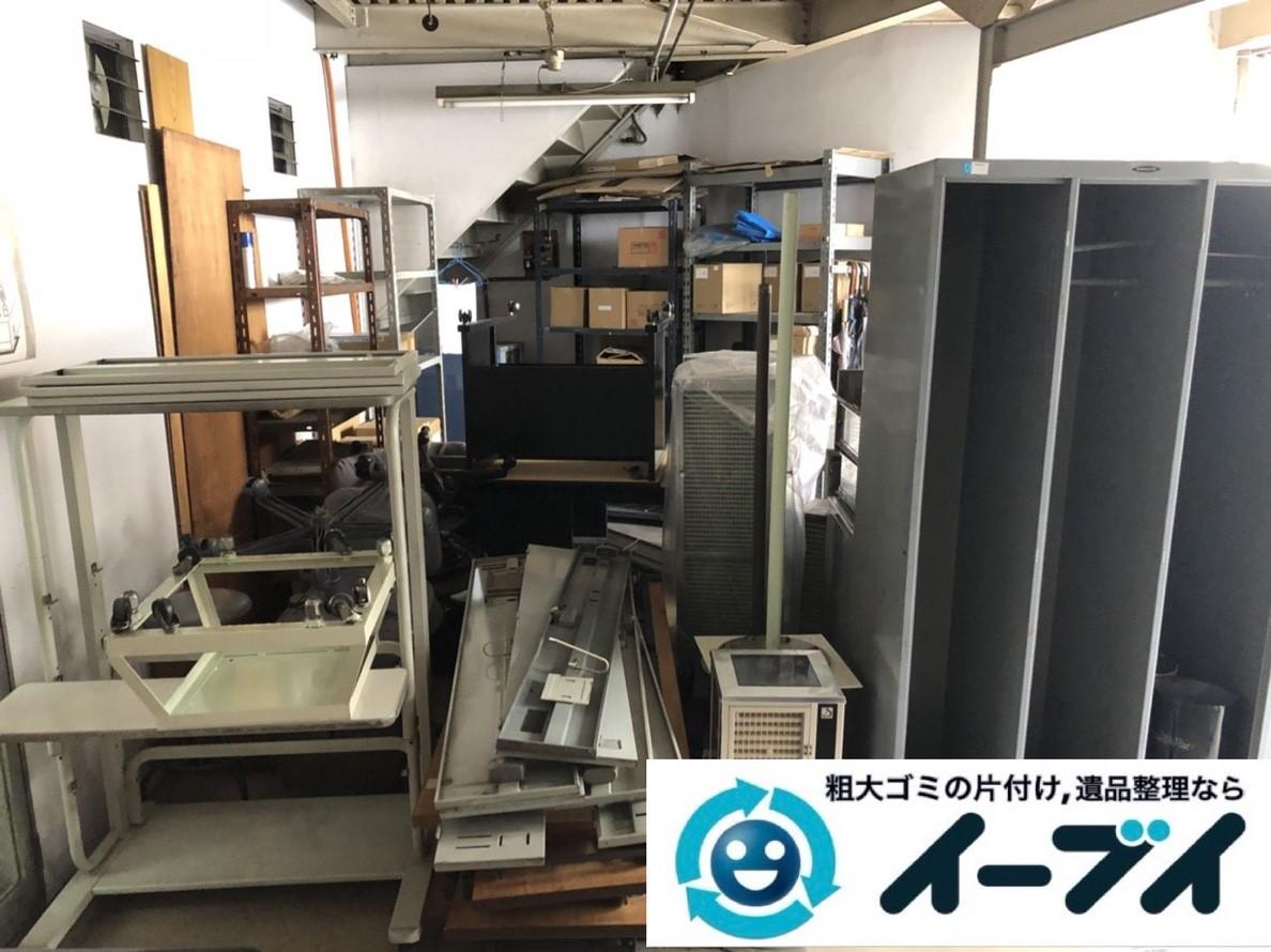 2019年6月14日大阪府大阪市阿倍野区で事務所の不要になった不用品回収。写真1