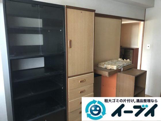 2019年6月3日大阪府東大阪市でお家の残置物の不用品回収。写真3