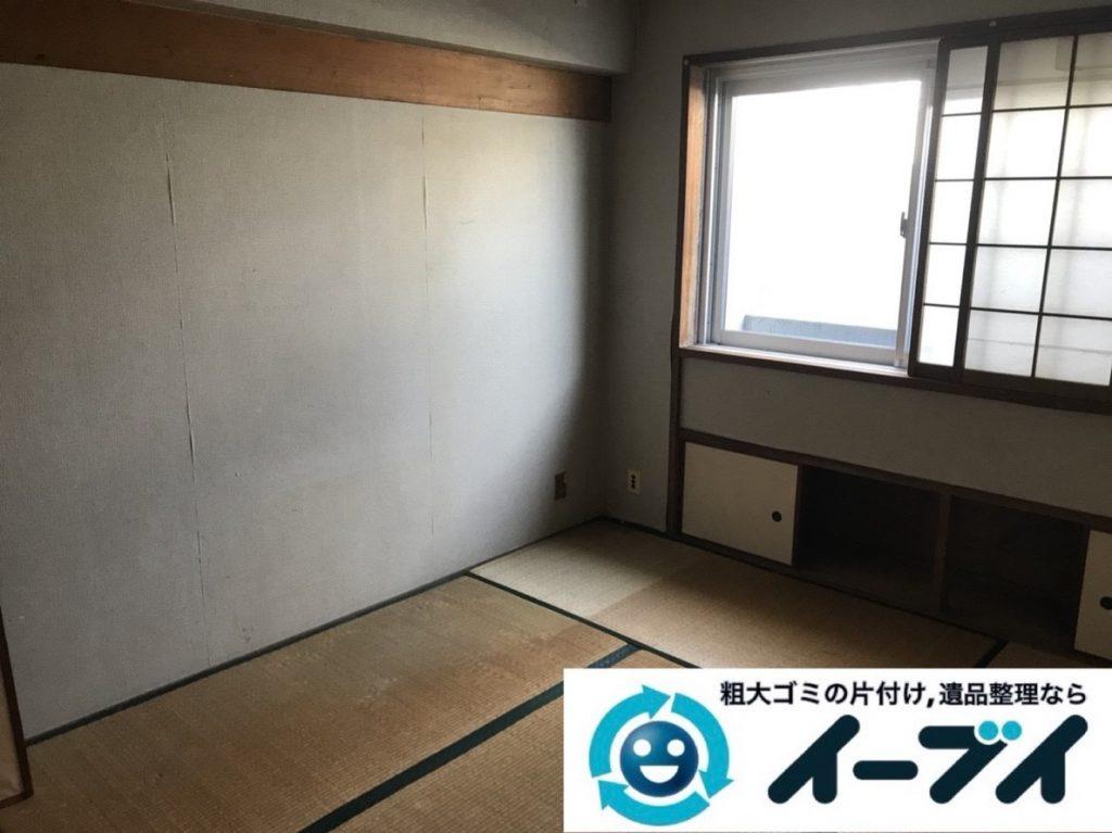 2019年6月7日大阪府堺市北区で婚礼家具など家財道具の全処分作業。写真4