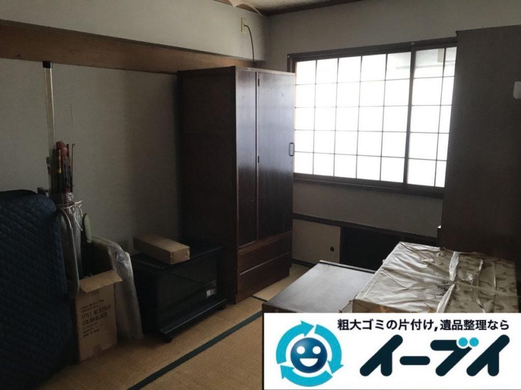 2019年6月7日大阪府堺市北区で婚礼家具など家財道具の全処分作業。写真3
