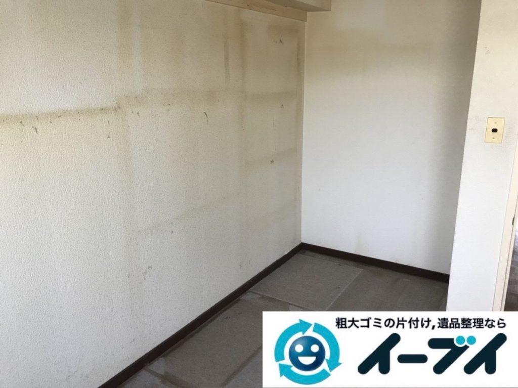 2019年6月7日大阪府堺市北区で婚礼家具など家財道具の全処分作業。写真2