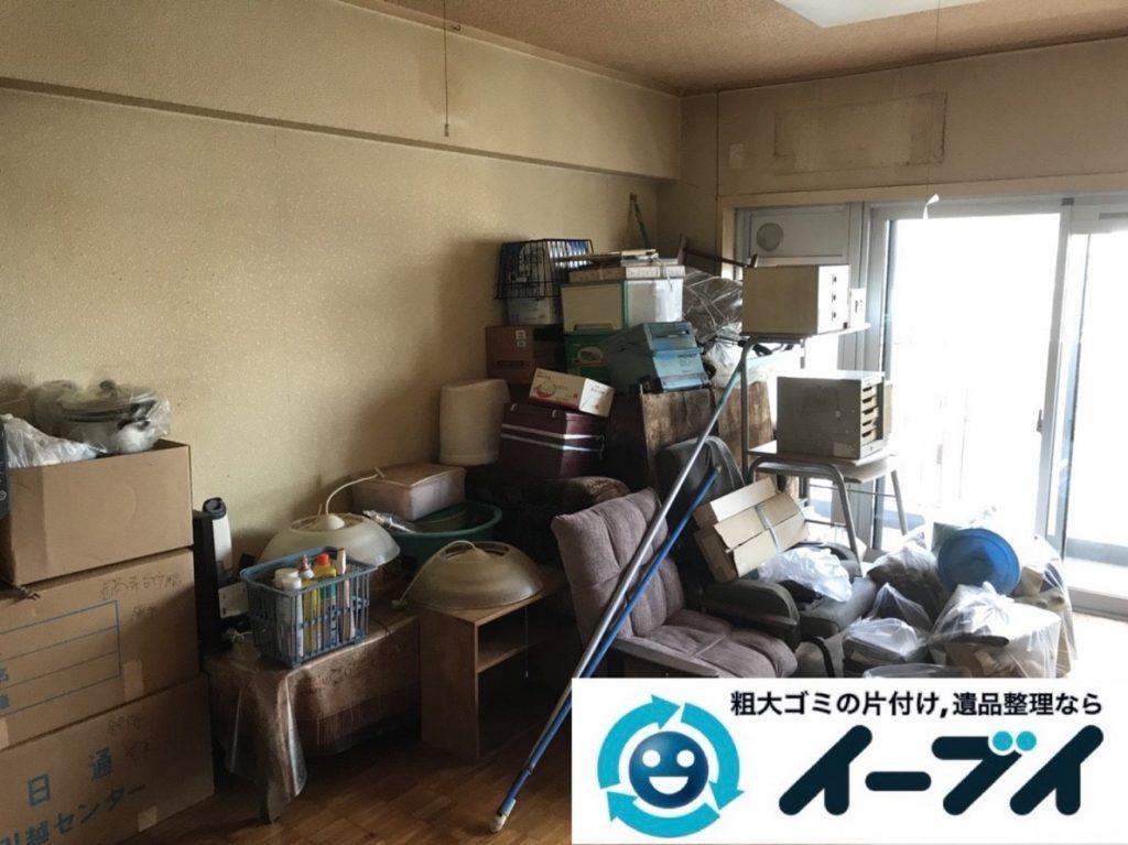 2019年6月17日大阪府八尾市で引越しに伴いお家の家財道具を一式処分させていただきました。写真3
