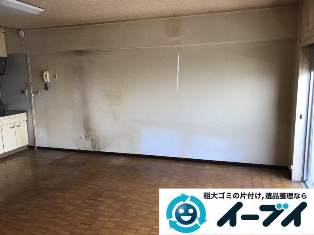 2019年6月17日大阪府八尾市で引越しに伴いお家の家財道具を一式処分させていただきました。写真2