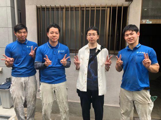 2019年6月1日大阪市福島区のお客様より一軒家の建て壊しに伴ったお部屋の残置物の処分で弊社をご利用頂きました。