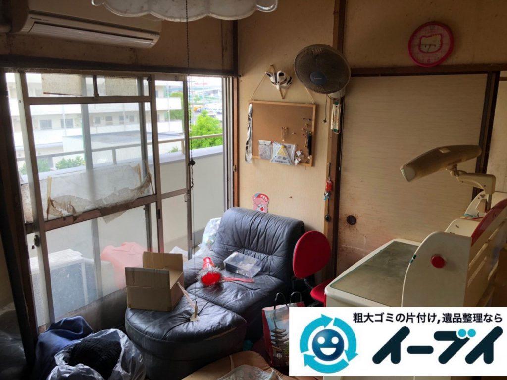 2019年7月4日大阪府枚方市でお家の家財道具を一式処分させていただきました。写真4