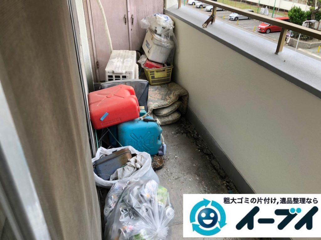 2019年7月4日大阪府枚方市でお家の家財道具を一式処分させていただきました。写真2