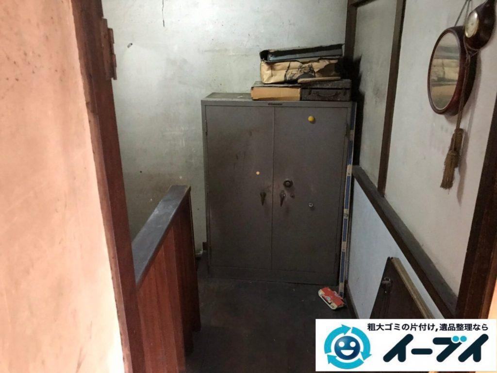 大阪府八尾市で退去に伴いお家の家財道具を全処分。3