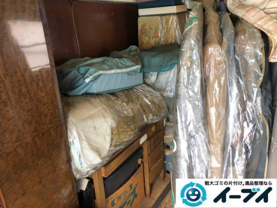 2019年7月16日大阪府四条畷市で洋服ダンスやベッドの粗大ゴミ処分。写真1