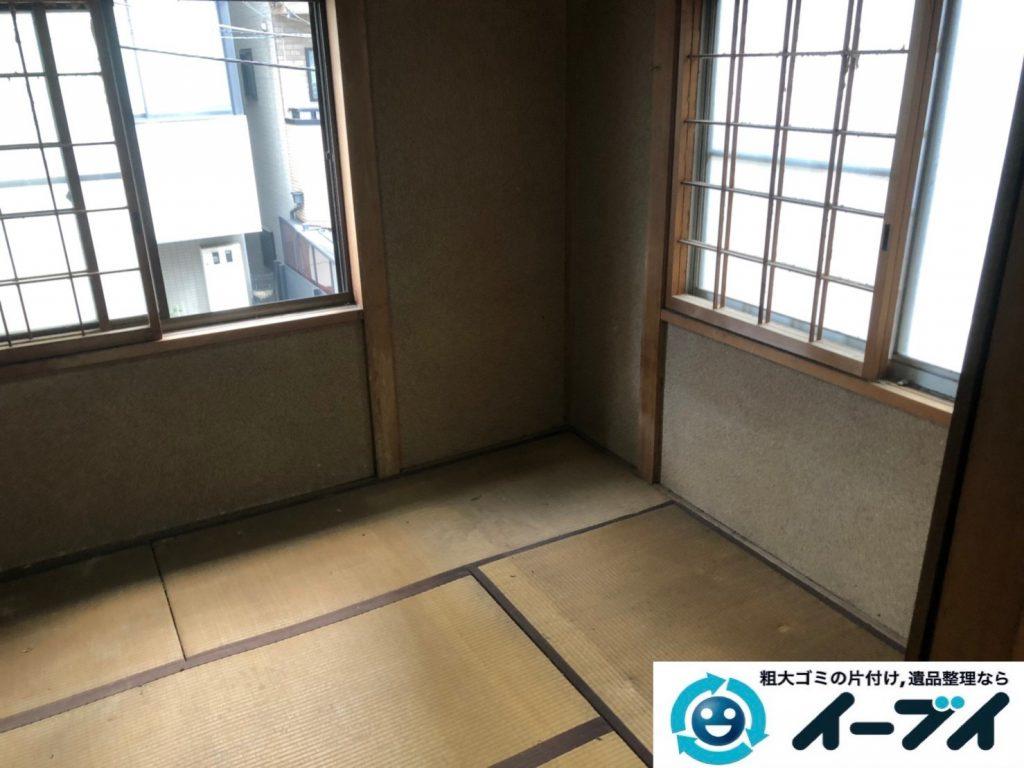 2019年8月6日大阪府大阪市平野区でソファの家具処分、衣類や細かな生活用品の不用品回収。写真4