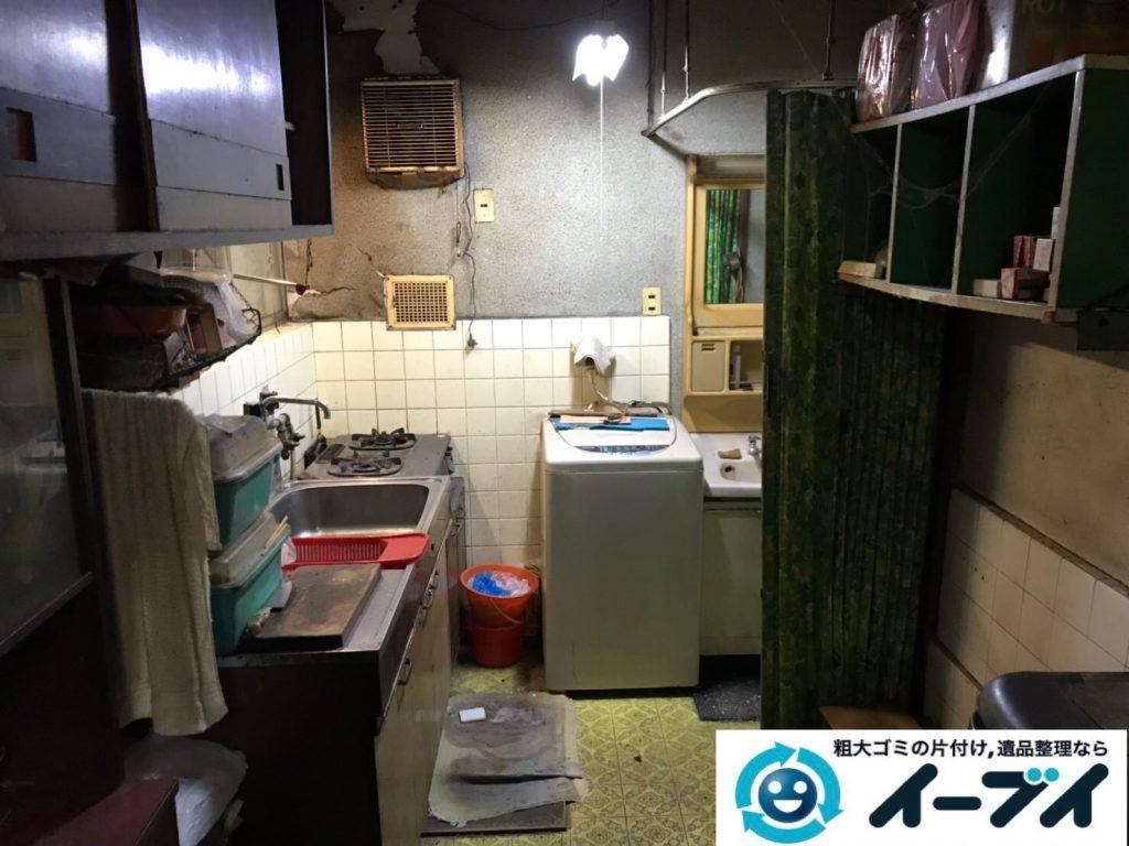 2019年7月18日大阪府堺市北区でお家の家財道具を一式処分しました。写真1