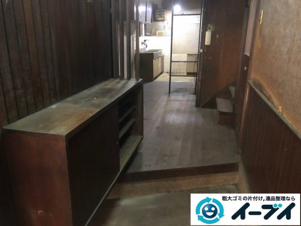 2019年7月18日大阪府堺市北区でお家の家財道具を一式処分しました。写真6