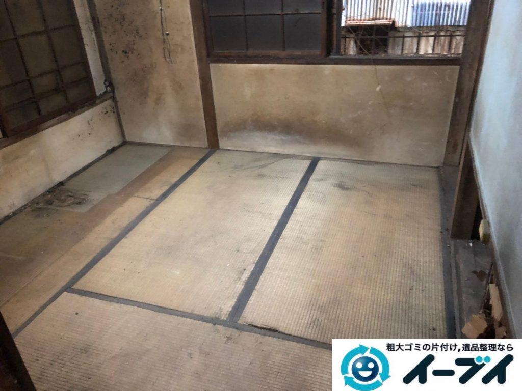 2019年8月13日大阪府大阪市大正区でお部屋の家財道具を全処分させていただきました。写真4