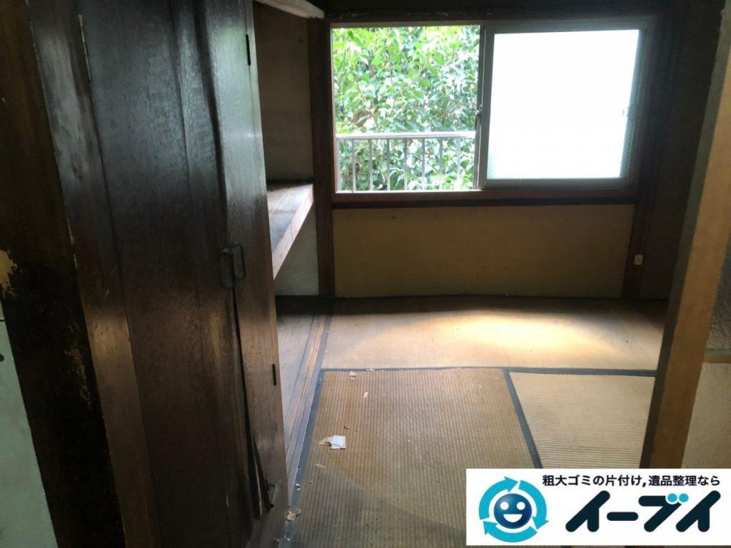 2019年8月6日大阪府大阪市平野区でソファの家具処分、衣類や細かな生活用品の不用品回収。写真2