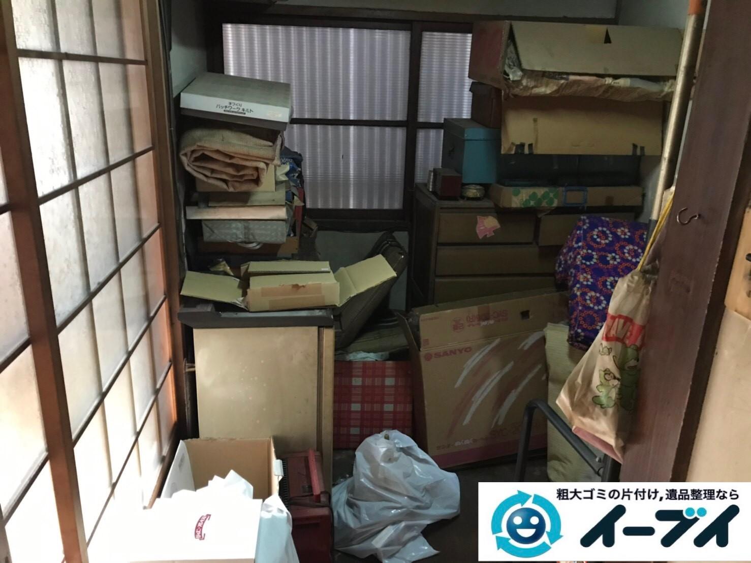 2019年8月14日大阪府大阪市天王寺区で引越しに伴いお家の不用品を回収させていただきました。写真13