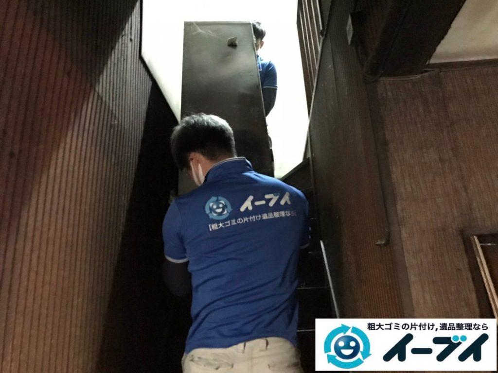 2019年7月24日大阪府四条畷市でお庭やガレージの不用品回収。写真5