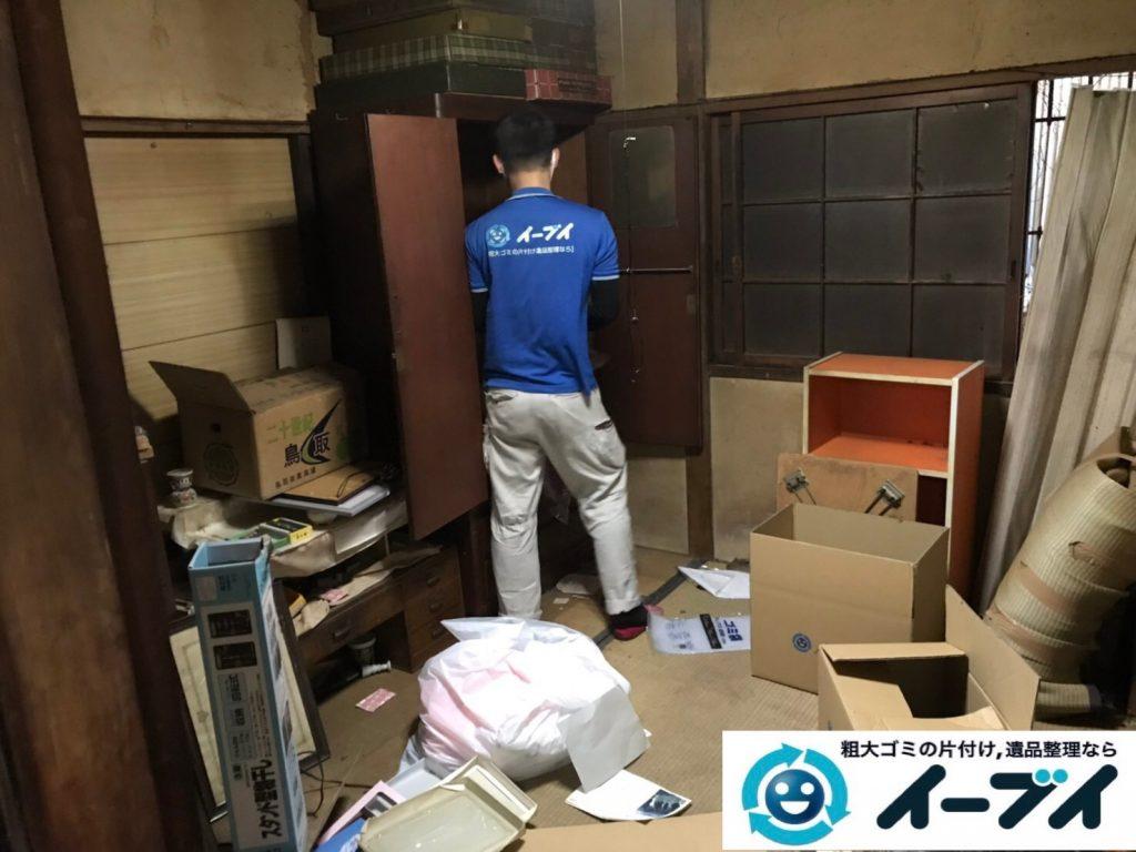 2019年7月22日大阪府堺市堺区でお部屋やガレージの不用品回収作業。写真6
