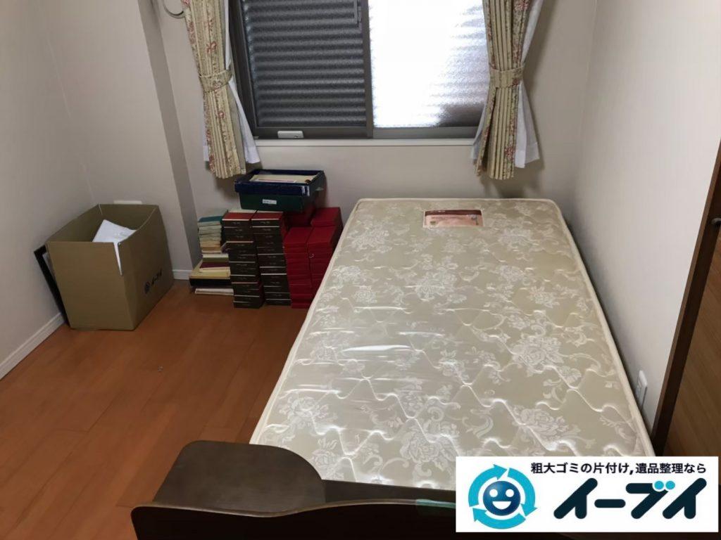 2019年7月11日大阪府交野市でベッドの大型家具、クローゼットの片付けをさせていただきました。写真4