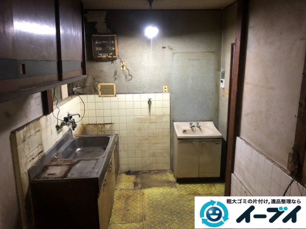 2019年7月18日大阪府堺市北区でお家の家財道具を一式処分しました。写真2