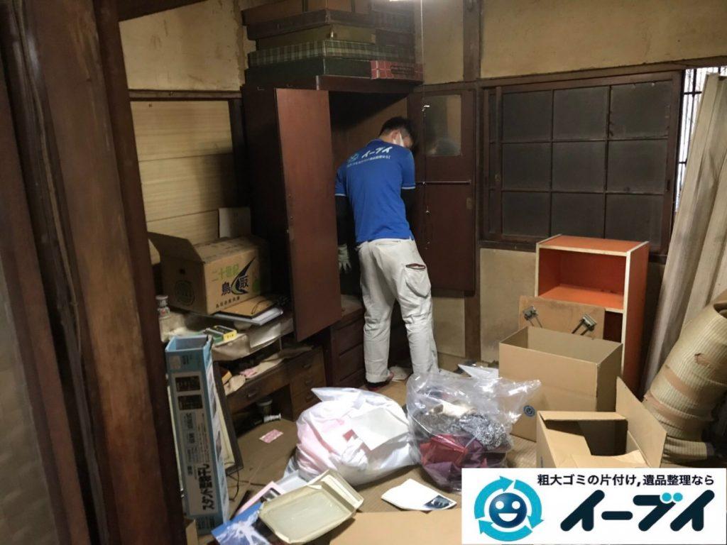 2019年7月22日大阪府堺市堺区でお部屋やガレージの不用品回収作業。写真5