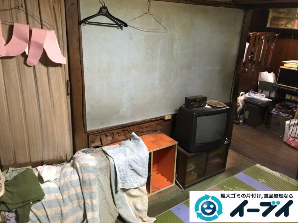 2019年8月14日大阪府大阪市天王寺区で引越しに伴いお家の不用品を回収させていただきました。写真3
