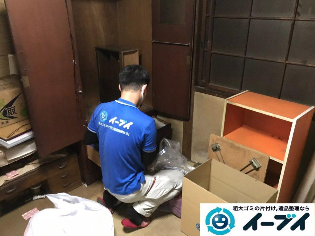 2019年7月22日大阪府堺市堺区でお部屋やガレージの不用品回収作業。写真7