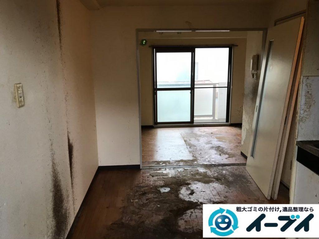 2019年7月29日大阪府大阪市住吉区で台所周りのお部屋の不用品回収。写真2