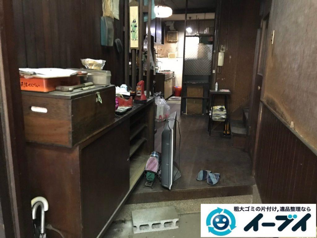 2019年7月18日大阪府堺市北区でお家の家財道具を一式処分しました。写真5