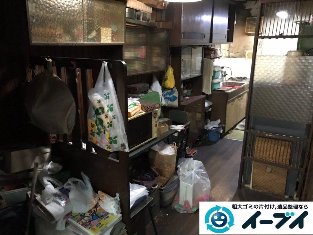 2019年7月18日大阪府堺市北区でお家の家財道具を一式処分しました。写真3